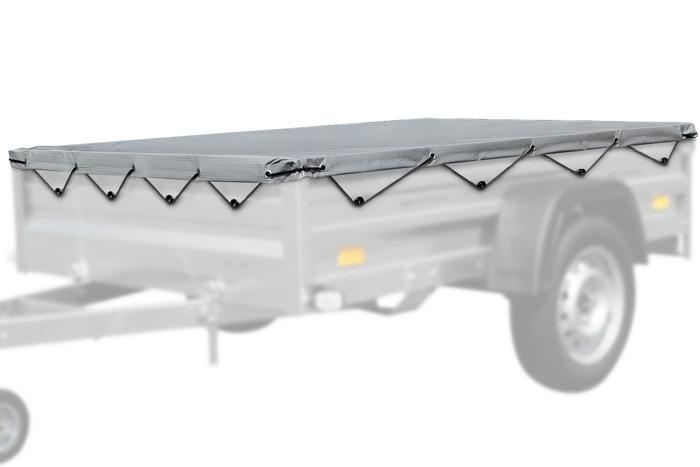Acoperire plată 200 × 125 Unitrailer pentru remorci Garden Trailer 205
