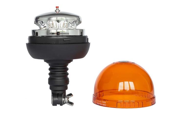 Avertizor optic ,,girofar'' cu LED SMD 186H cu 3 funcții