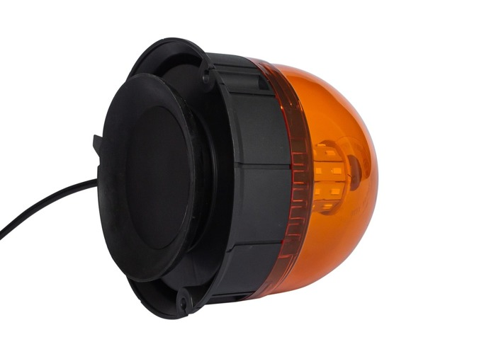 Avertizor optic ,,girofar'' cu LED SMD 190L cu 3 funcții