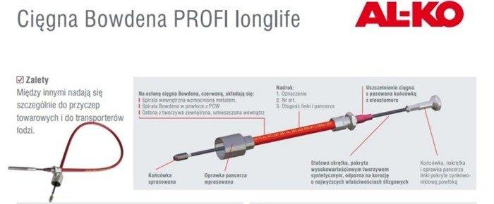 Cablu de frână Bowden AL-KO 1430/1626
