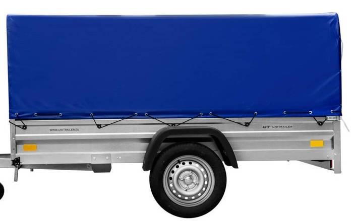 Cadru cu prelata albastră 236x125