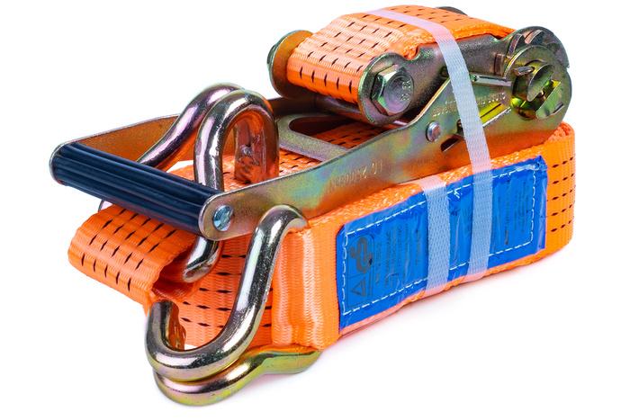 Chingă ancorare cu clichet 8 m/35 mm/5 t