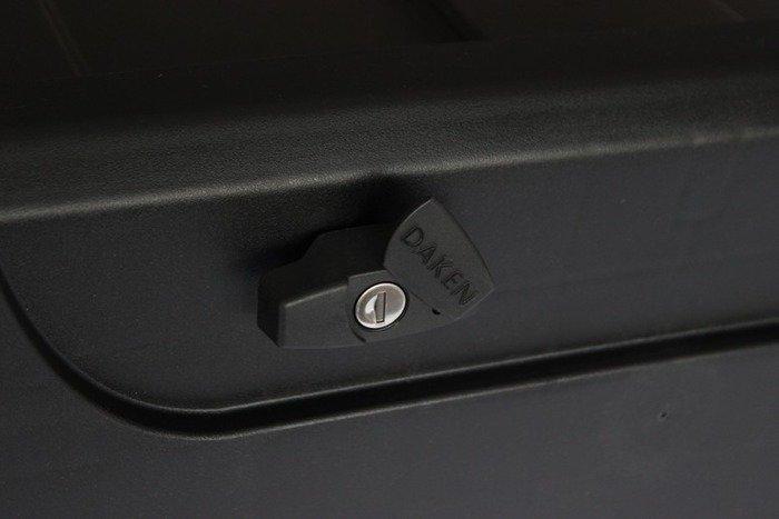 Cutie unelte Daken BLACKIT 750 cu broască unică și cu mânere