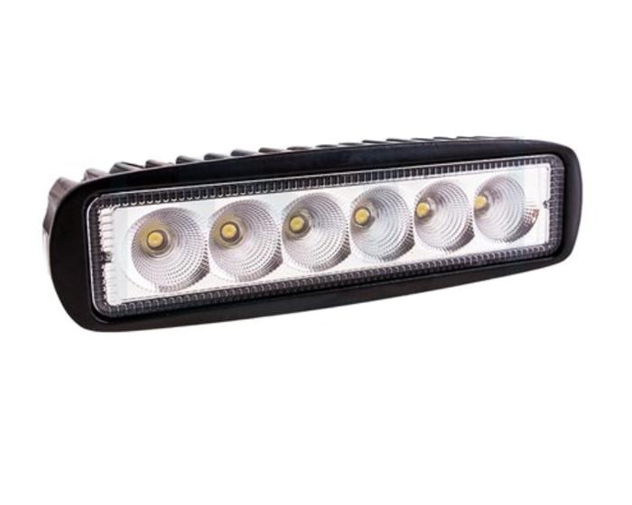 Lampă de lucru dreptunghiulară 6 LED 1250 Lm lumină focalizată