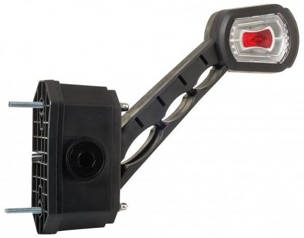 Lampă gabarit LED dreaptă cu avertizor marșarier încorporat a companiei Horpol LDCC 2714