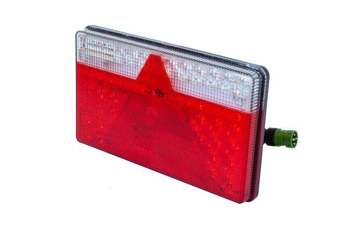 Lampă spate Aspöck Multiled II LED cu 5 pini dreapta