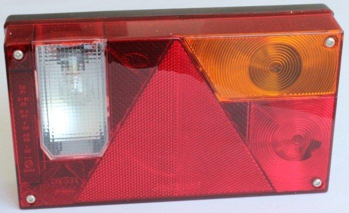 Lampă spate Multipoint I Aspöck pentru remorci auto