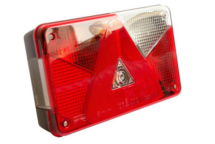 Lampă spate dreapta Multipoint V pentru remorci auto - Aspöck