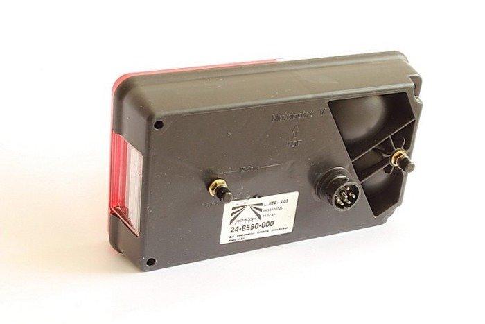 Lampă spate stânga Multipoint V pentru remorci auto - Aspöck