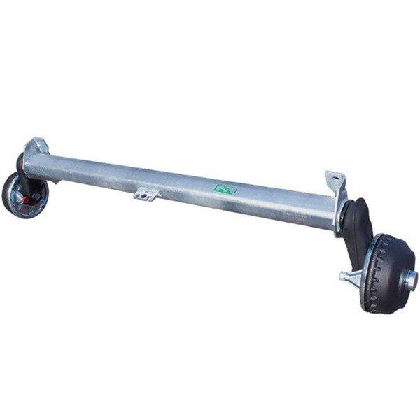Osie cu frână AL-KO 1800 kg A1750 5x112 E
