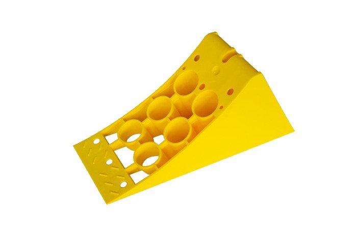 Pană din plastic cu mâner pentru blocare roată