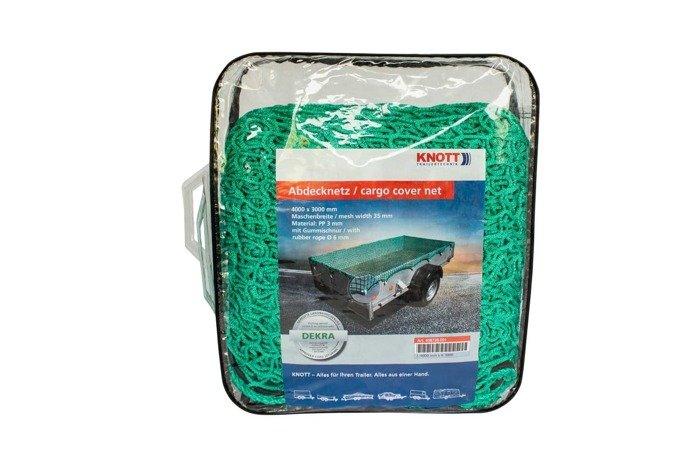 Plasă de siguranță cu frânghie KNOTT 1500x2700