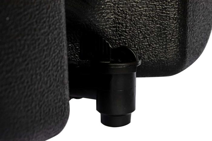 Rezervor de apă de 30 l cu dozator de săpun TAKLER - negru + suporturi
